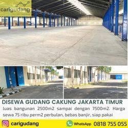 Gudang Cakung Jakarta Timur 5000m2