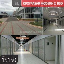 Kios Pasar Modern 2, BSD, Tangerang, 3x3m, PPJB