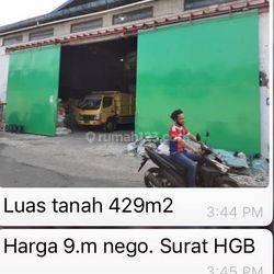 Gudang Murah di Jakarta Barat Siap Huni sangat luas sertifikat HGB