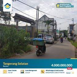 Tanah dan Bangunan di Tangerang Selatan