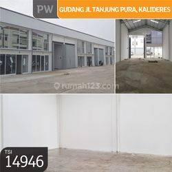 Gudang Jl. Tanjung Pura, Kalideres, Jakarta Barat, 10x30m, 1 Lt, SHM