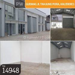 Gudang Jl. Tanjung Pura, Kalideres, Jakarta Barat, 8x30m, 1 Lt, SHM