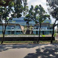 Office space  luas 93m2 di Grha Adhi Media Jl. Deplu Raya