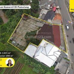 Bangunan Komersil Lokasi Pinggir Jalan Pamulang