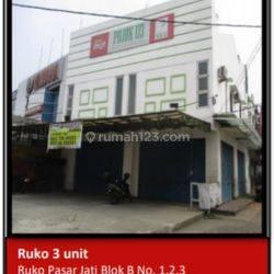 #RUKO3UNIT-PASAR JATI-PERIUK-TANGGERANG-UNIT READY*MURAH*
