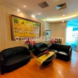 MURAHHH DAN BAGUSS OFFICE SPACE 285 SQM FURNISHED @CENTRAL PARK, PODOMORO CITY