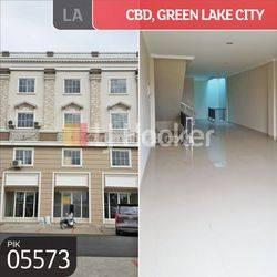 Ruko CBD Blok A, Green Lake City, Kosambi, Tangerang, Banten