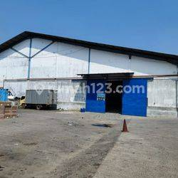 gudang dekat tol dan pelabuhan di Marunda Jakarta timur lebar 48x81