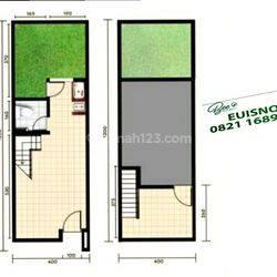 Ruko 2 lantai unit 9A di Citaville Parung Panjang