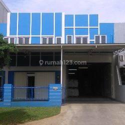 Gudang Plus Kantor  2 Lantai Exclusive Di Taman Tekno BSD