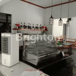 RUMAH/TOKO BEKAS CAFE LANGSUNG SIAP PAKAI