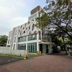 Gedung Kantor Citra Raya, 639 m2, 3½ Lantai, Lift @ Cikupa - 08.1212.560560