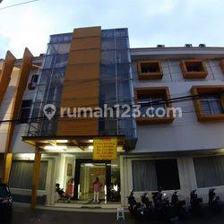 Gedung Hotel Bimo 2000m2 3.5lt
