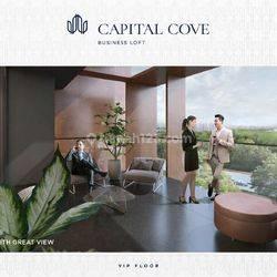 Premium Business Loft BSD City @CAPITAL COVE Type Penthouse Lokasi Briliant | Early Bird Diskon 12% Atau Cash Cicil 36x Tanpa Bunga |