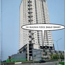 Ruko di Metro Garden,Karang Tengah,Hoek,Uk.4,5x14,3 lantai,Harga:3 m nego