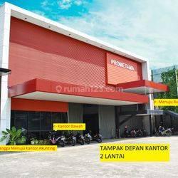 Kantor 2 Lantai Lokasi Strategis Fasilitas Lengkap di Jurumudi Tangerang