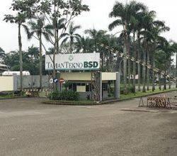 Gudang Taman Tekno BSD City, Kompleks Pergudangan, Siap Pakai