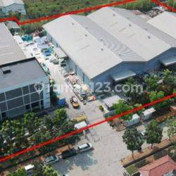 Pabrik  3000m2 di Kawasan Industri Jababeka 3, Cikarang, Bekasi