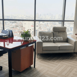 Office Space Furnished Di APL Tower Level 16 Central Park