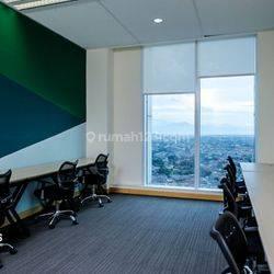 Ruang Kantor Palma Tower ! Luas - 10 m2 ! Lokasi Strategis 200 Lebih Gedung Seluru Jakarta, Tangerang
