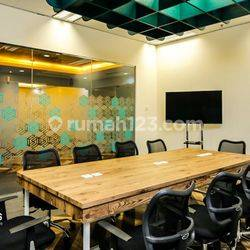 Ruang Kantor Palma Tower ! Luas - 18 m2 ! Lokasi Strategis 200 Lebih Gedung Seluru Jakarta, Tangerang