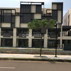 Komersial 4 Lantai Siap Pakai KPR Tanpa DP   Ruko Icon Business Park 5 BSD City   Hadap Jalan Raya Unit Terbatas  