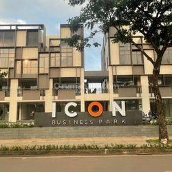 Komersial 4 Lantai Hadap Jalan Raya KPR Tanpa DP   Ruko Icon Business Park 5 BSD City  