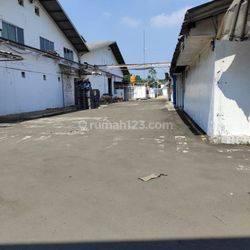 Pabrik siap pakai, strategis, 4km dari pintu tol Bitung, Tangerang