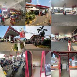 Ruang Usaha SPBU Sangat Cocok untuk Investasi + Minimarket di Jl.wr.supratman, ciputat, tangerang selatan banten