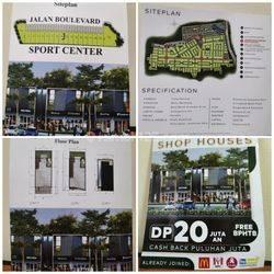 Ruko (New) Boulevard Perumahan Grand Duta Garden Jurumudi Tangerang