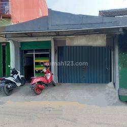 Ruko 1 lantai di jalan Raya Binong Permai dekat pasar & sekolahan Karawaci Tangerang