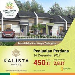 Kalista Homes Summarecon Karawang Rumah Dekat Mall Seharga 450 Jutaan