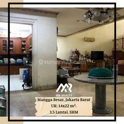 MURAH!! Rumah bangunan kokoh di Mangga besar Jakarta Barat