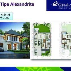 Rumah mewah dan elegant Alexandrite citraland tallasa city dekat dengan bandara sultan hasanuddin