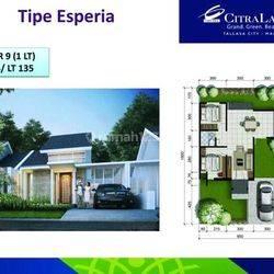 Rumah cantik dan murah citraland tallasa city dekat rumah sakit wahidin