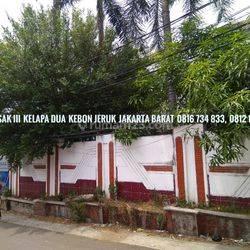 Rumah termurah di Kelapa Dua Kebon Jeruk jalan Sasak III Jakarta Barat Bagus di bawah harga Pasar