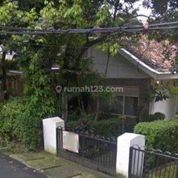 Rumah Tua Hitung Kavling Jalan Dwijaya Radio Dalam Gandaria Utara Kebayoran Baru Jakarta Selatan