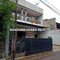 Rumah Minimalis Cikaso beserta tempat usaha GYM Siap Huni.