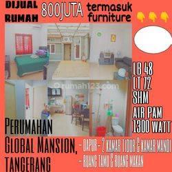 Rumah Furnished di Global Mansion, Sangiang, Tangerang