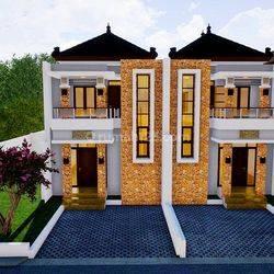 Rumah 2 Lantai Gaya Bali dekat LRT Cibubur Junction