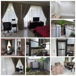 rumah cantik type cluster di perumahan elit citraland pekanbaru