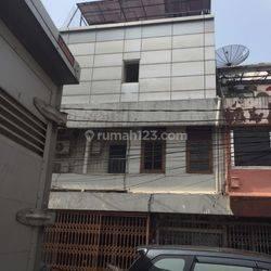 Rumah Kost2an 4 Lantai Siap Huni di Pasar Baru Jakarta Pusat