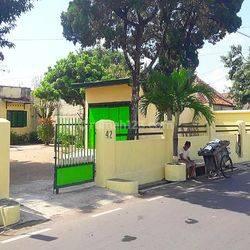 Rumah Jawa Dalam Benteng Kraton Yogyakarta Bangunan Antik dekat Alkid