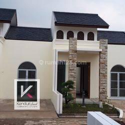 Rumah baru dalam cluster Mewah bergaya Timur Tengah dengan fasilitas lengkap
