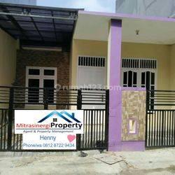 Rumah Ungu Harga Nego di Pondok Ungu Permai