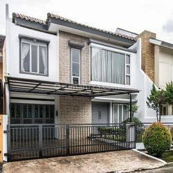 Rumah furnished Griya Loka BSD City  Serpong Tangerang Selatan