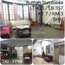 rumah sangat strategis, nyaman dan besar lokasi pusat kota bandung di Jalan Sumbawa, Merdeka, Kec. Sumur Bandung, Kota Bandung, Jawa Barat