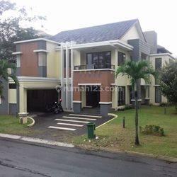 Rumah Mewah Kolam Renang Siap Huni Telaga Golf BSD