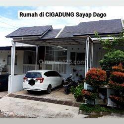 Rumah Siap Huni Konsep Down Slope Cluster di Cigadung Bandung