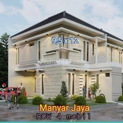 Rumah Hook Manyar Jaya Jln Utama Row 4 Mobil